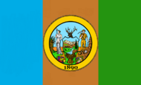 Idaho State Flag Proposal No 2 Designed By Stephen Richard Barlow 26 OCT 2014 at 1117hrs cst