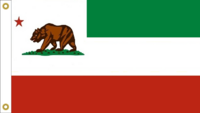 California State Flag Proposal No. 7a Designed By Stephen Richard Barlow 09 FEB 2015 at 0533 HRS CST.