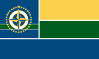 Minnesota State Flag 32 Star Proposal No 7 By Stephen Richard Barlow 02 NOV 2014 at 1058hrs cst