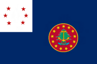 Rhode Island State Flag Proposal No 11 Designed By Stephen Richard Barlow 22 AuG 2014 at 0845hrs cst