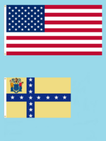 50star American Flag with New Jersey State Flag Proposal No. 11a By Stephen Richard Barlow 10 JAN 2015 1030 HRS CST