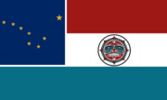 Alaska State Flag Proposal No 9 Designed By Stephen Richard Barlow 08 SEP 2014 at 2152hrs cst