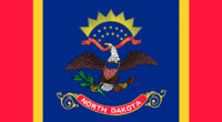 North Dakota State Flag Proposal Remix Design No 3 By Stephen Richard Barlow 17 AuG 2014 at 1234hrs cst
