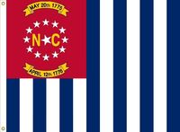 North Carolina flag proposal No. 18 by Stephen Richard Barlow 10 AUG 2015 at 1132 HRS CST.