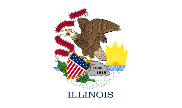 File:Current flag of Illinois.png