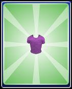 Purple boy shirt