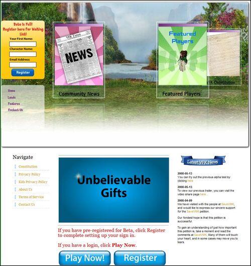 Homepage july