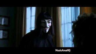 V For Vendetta - I killed you 10 minutes ago.