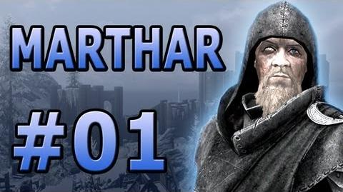 """01 Let's Play Skyrim with Marthar - """"The Wizard from Daggerfall!"""""""