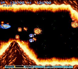 Gradius III (SNES Version)