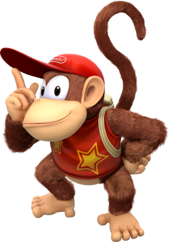 File:Diddy Kong Artwork - Donkey Kong Country Tropical Freeze.png