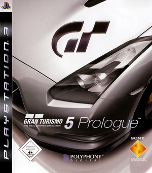 Gran Turismo 5 Prologue Cover