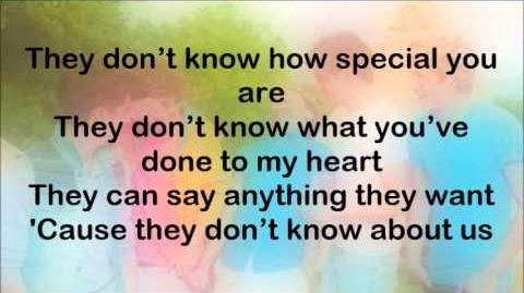 One Direction - They Don't Know About Us (Lyrics On Screen)-0