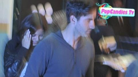 Victoria Justice & Ryan Rottman depart 2013 Myspace Event at El Rey Theatre in LA