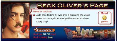 Beck's Mustache
