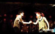 Matt and Ariana on Stage