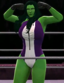 She hulk 2k14 vgcw