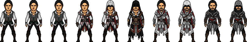 Assassin s creed ezio auditore by ultimocomics-d7embrz