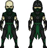 Mortal kombat reptile by ultimocomics-d6tlij22