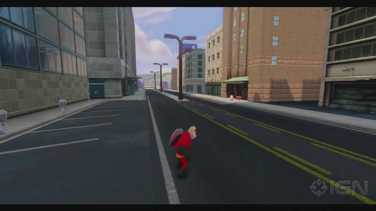 Disney Infinity Walkthrough - The Incredibles Which Witness