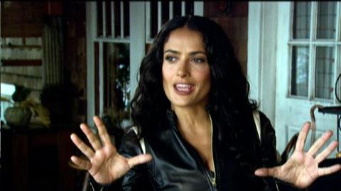 """Cirque Du Freak The Vampire's Assistant (2009) - Interview Salma Hayek """"On the style of the film"""""""