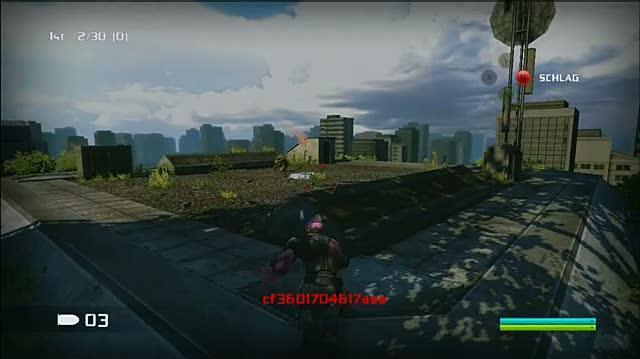 Bionic Commando Xbox 360 Gameplay - Air Kills