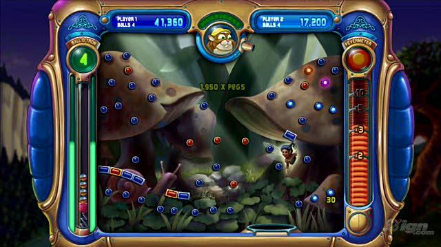 Peggle PlayStation 3 Gameplay - Duel Mode
