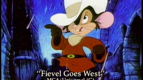 An American Tail Fievel Goes West (1991) - Home Video Trailer (e12216)
