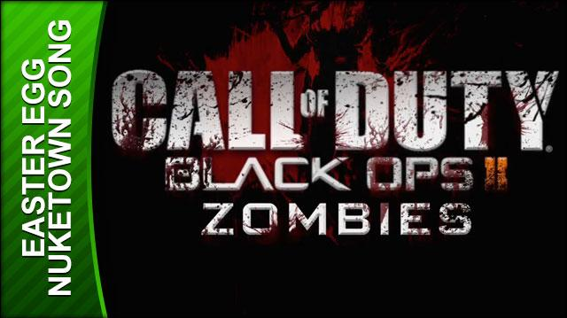 Call of Duty Black Ops 2 Walkthrough - Nuketown Zombies Song Easter Egg