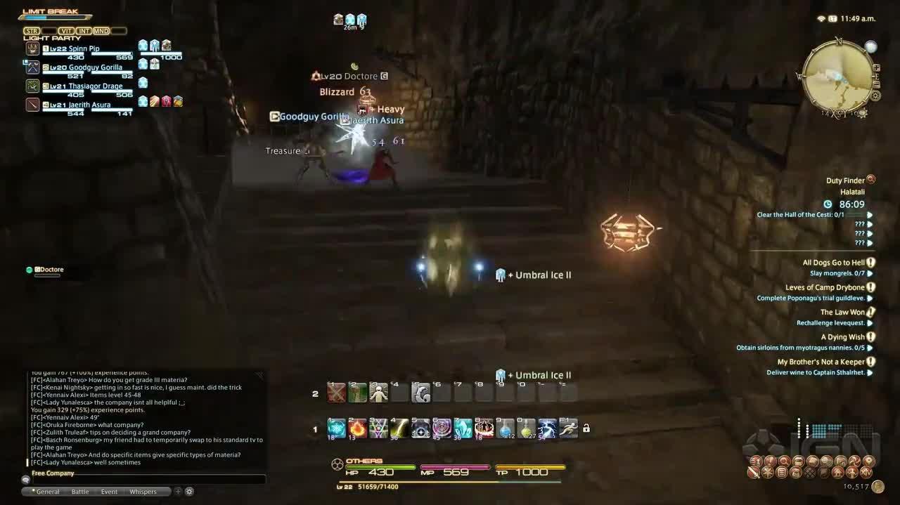 Final Fantasy XIV A Realm Reborn Walkthrough - Halatali Dungeon Guide