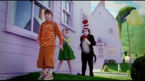 Cat in the Hat - crashing a birthday party