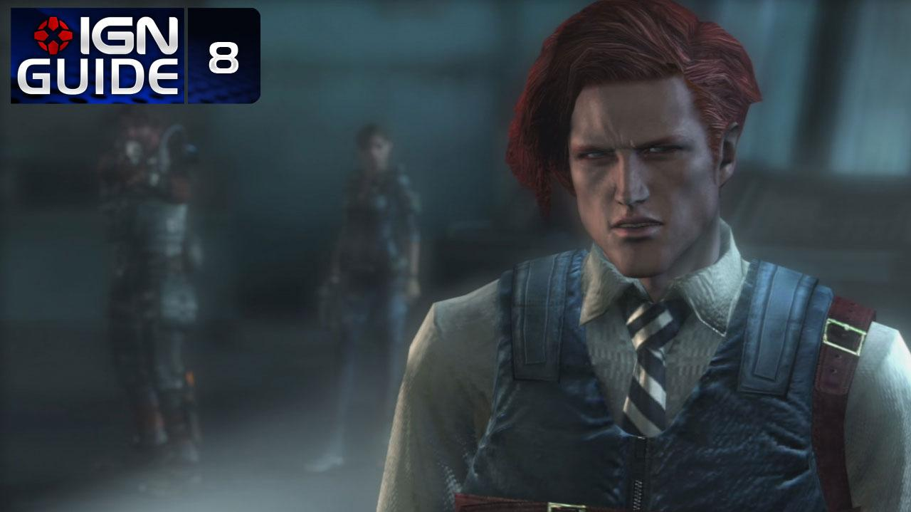 Resident Evil Revelations Walkthrough - Episode 3-2A (Part 8)