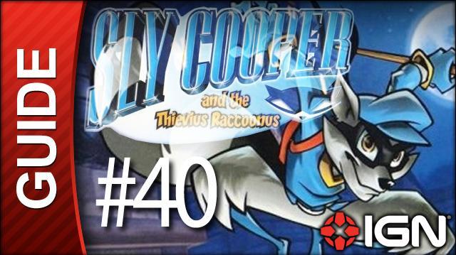 Sly Cooper Thievius Raccoonus Walkthrough - 40 Episode 4 Part 3 Flaming Temple of Flame