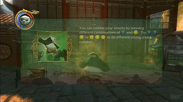 Kung Fu Panda Xbox 360 Gameplay - Bridge Fight