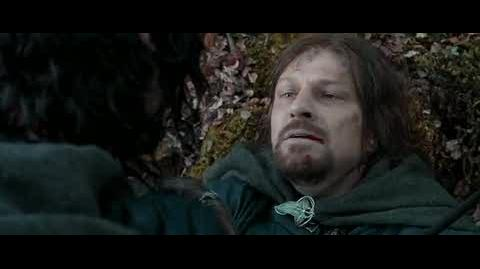 The Lord of the Rings The Fellowship of the Ring - Boromir's death