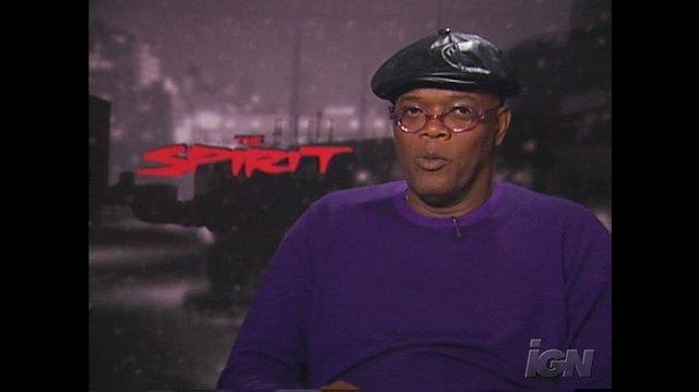 The Spirit Movie Interview - Samuel L
