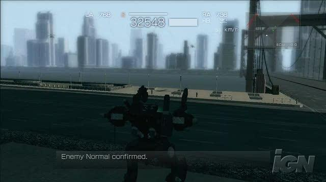Armored Core 4 Xbox 360 Gameplay - Early Mission (HD)