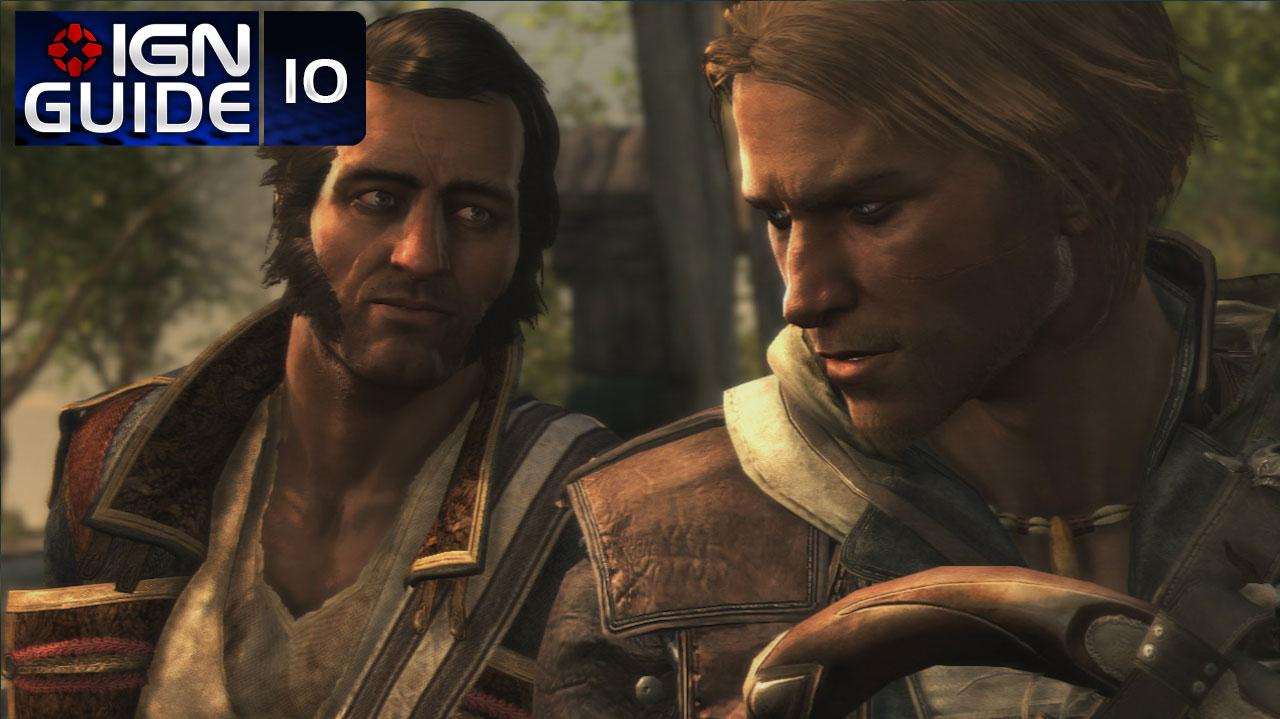 Assassin's Creed 4 Walkthrough - Sequence 03 Memory 02 Now Hiring (100% Sync)