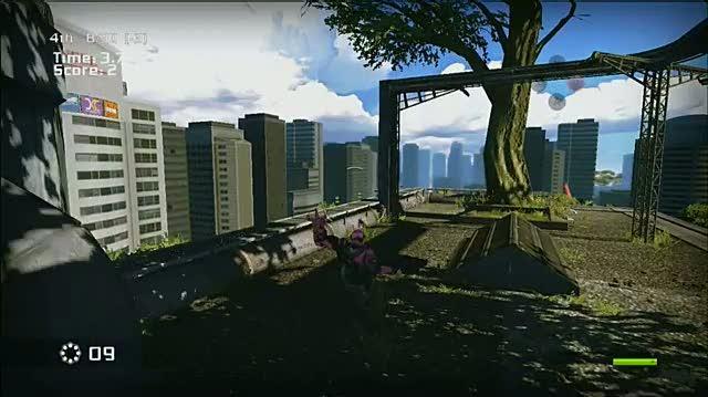 Bionic Commando Xbox 360 Gameplay - Swing Kid