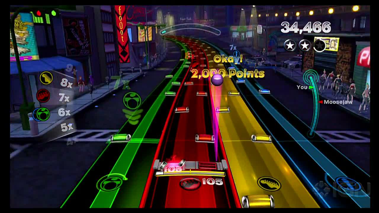 Rock Band Blitz Pinball Power