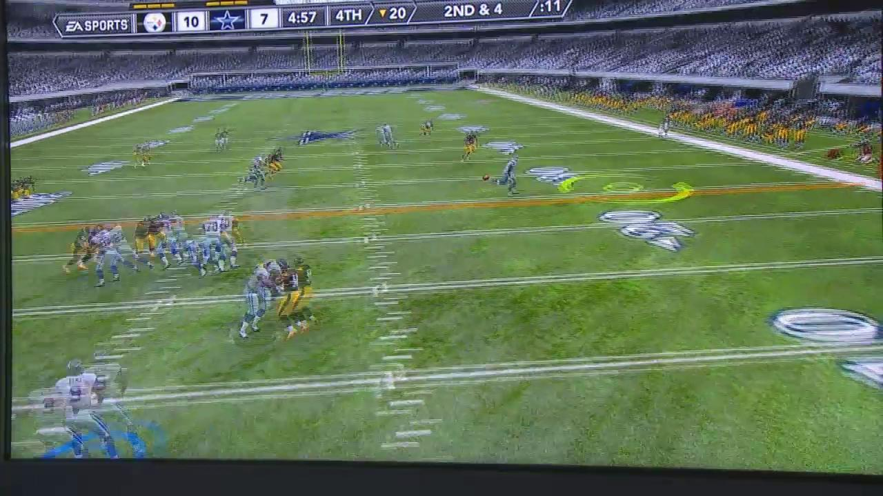 E3 2011 Madden 12 Almost There Gameplay Off-Screen