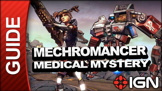 Borderlands 2 Mechromancer Walkthrough - Medical Mystery - Side Mission