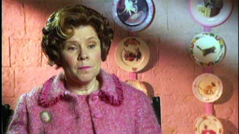 """Harry Potter and the Order of the Phoenix (2007) - Interview Imelda Staunton """"On the rebellious affect of her teaching style"""""""