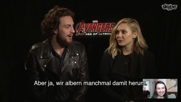 Avengers Age of Ultron Skype-Interview (Deutsch)