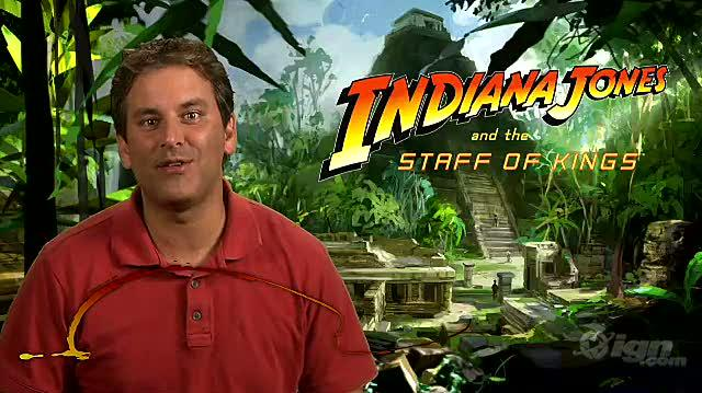Indiana Jones and the Staff of Kings Nintendo Wii Video - Co-op Mode
