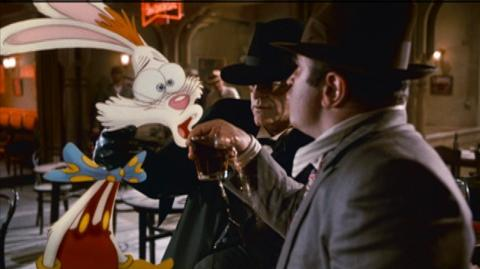 Who Framed Roger Rabbit 25th Anniversary Edition (1988) - Clip Roger Has a Drink