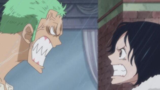 One Piece - Episode 613 - Showing Off His Techniques! Zoro's Formidable One Sword Style!