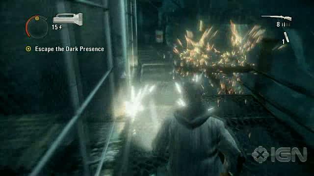 Alan Wake X360 - Walkthrough - Alan Wake - Nightmare Difficulty - Episode 5 - Run for It