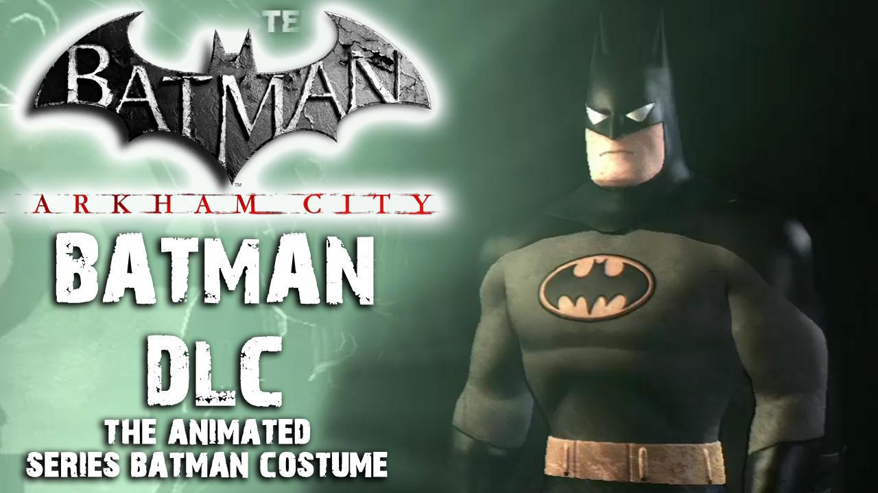 Batman Arkham City - Animated Series Costume