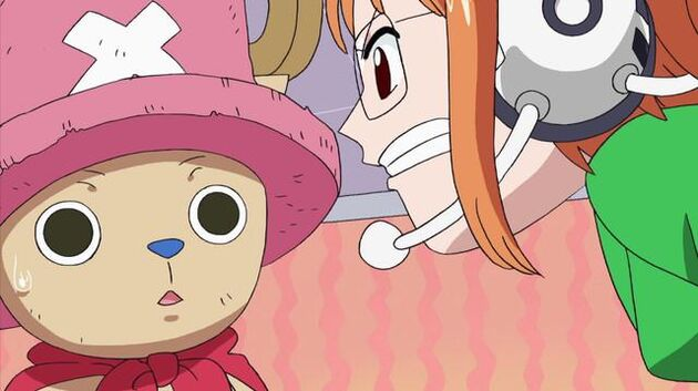 File One Piece - Episode 336 - Chopperman to the Rescue! Protect the TV Station by the Shore!